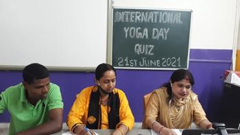 Yoga Day 2021 Activities